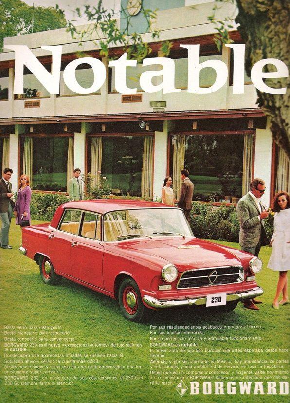 54 best Classic Marques - Borgward images on Pinterest | Vintage ...