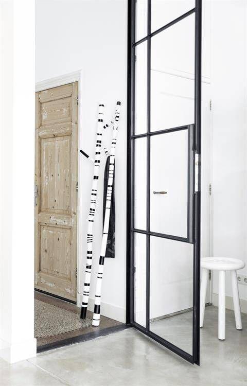 HKliving Tak Decoratie zwart wit - 190 CM - #HKliving #Orangehaus #Interior #design #Teakwood