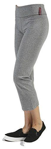 Fifth Degree USA Plus Size Cotton Grey Capri Yoga Pants -... https://www.amazon.com/dp/B01NBA1XZM/ref=cm_sw_r_pi_awdb_x_vQGnybNAKB5EY