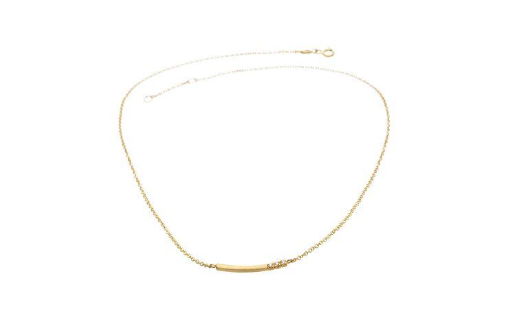 Velvet necklace - sandberg Sweden
