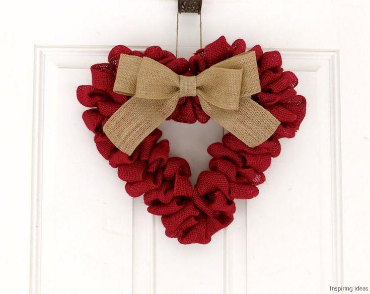 42 sweetest valentine wreaths ideas for your front door