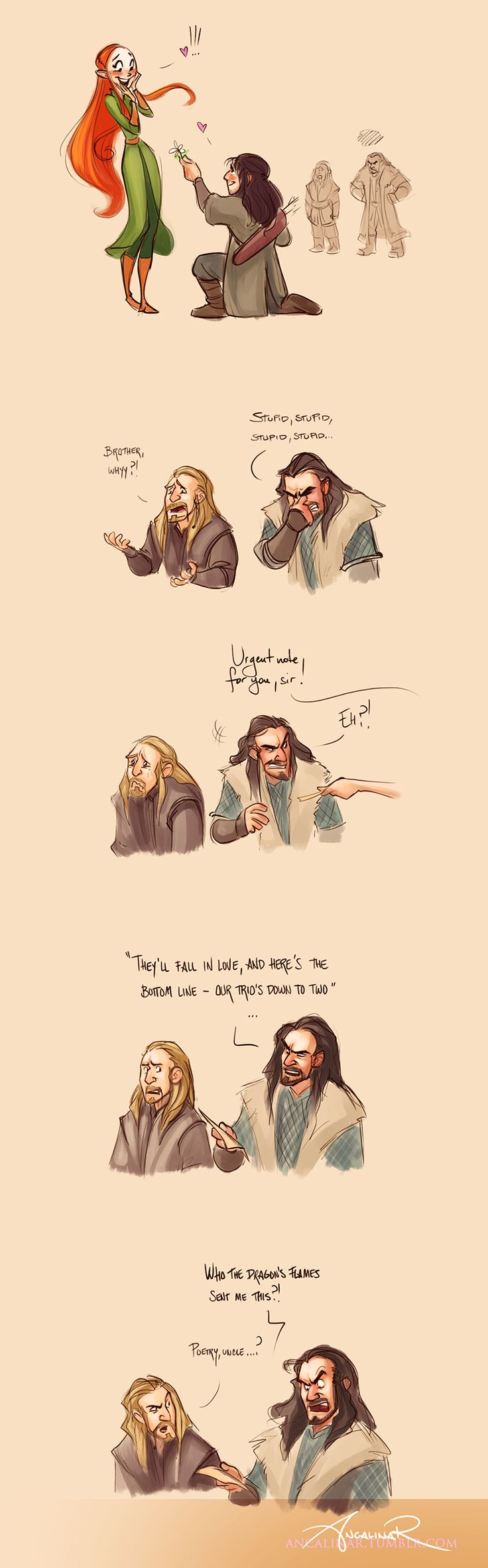 by ancalinar on deviantart Poetry is even funnier if you know Dean played Bragi, God of poetry in The Almighty Johnsons