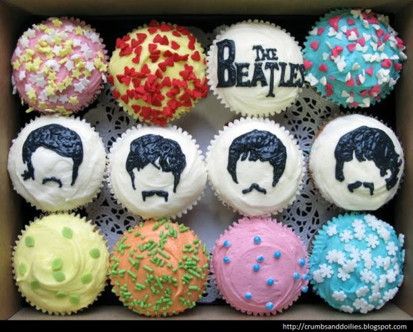 The Beatles cupcakes!