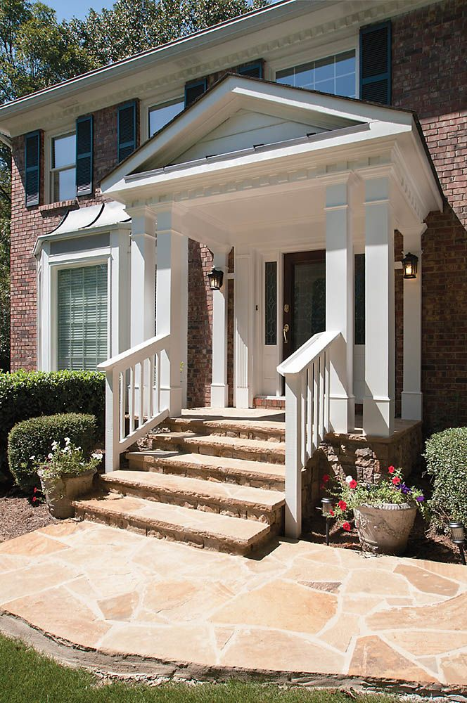 20 best rounded semi circular porticos images on for Georgia front porch
