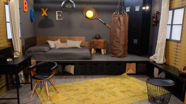La box t va d co une chambre d ado esprit salle de sport - Teva deco change decor ...