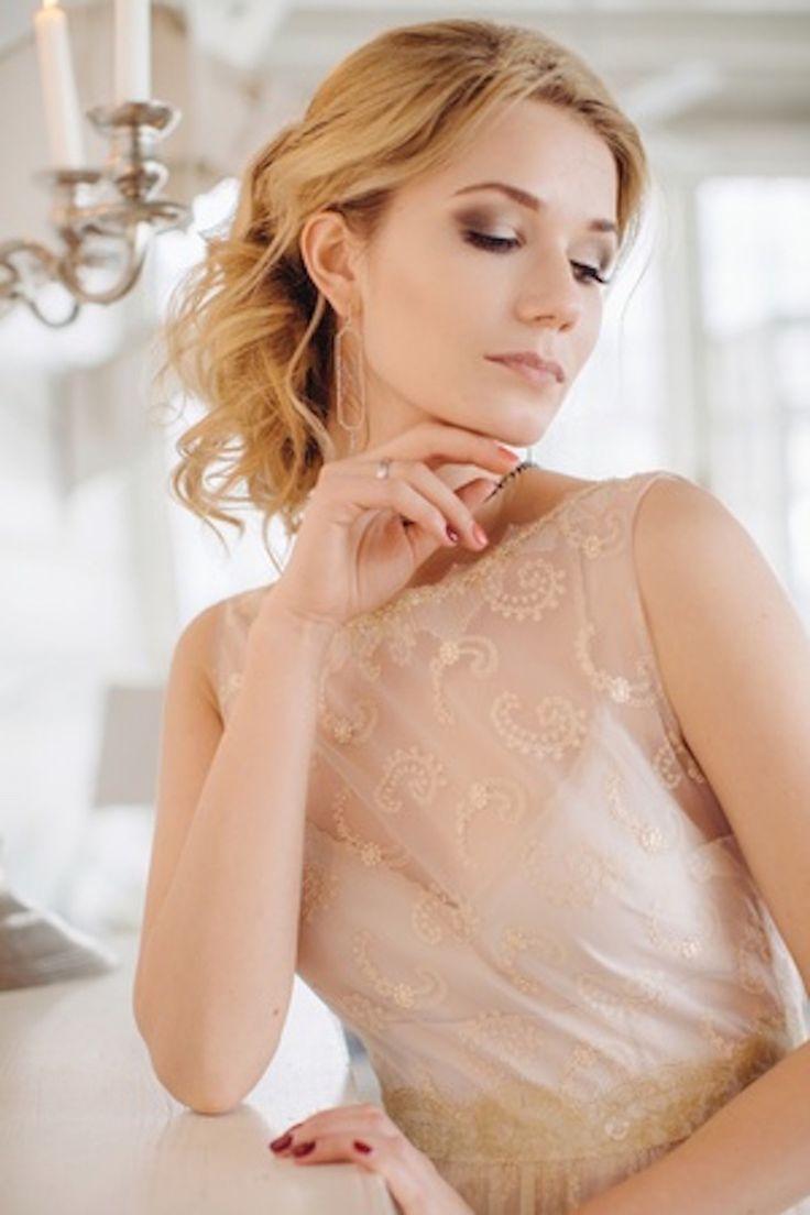 Нежный образ невесты #невеста #платье #украшение #образ #нежность