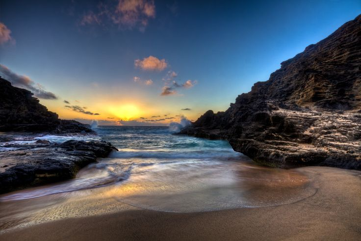 Honolulu Sunrise by Chris Muir on 500px. #HDR #sunrise #photography
