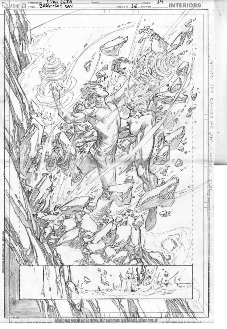 Pencils of Brightest Day 16 page 14 by Ivan Reis