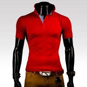 Tričko Polo červené