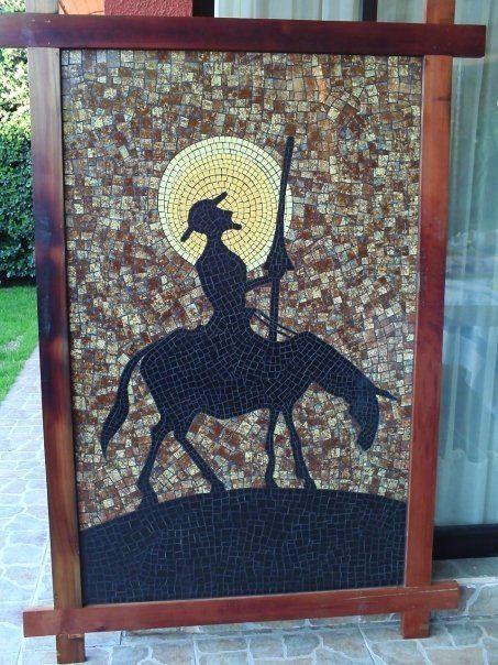 Don Quijote en mosaico