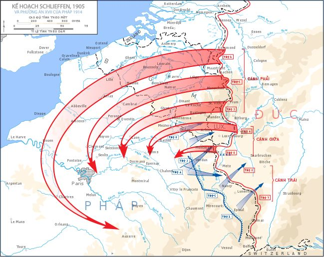 War Is Over >> A map of the Schlieffen Plan. Germany planned on to go through Belgium and take over France ...