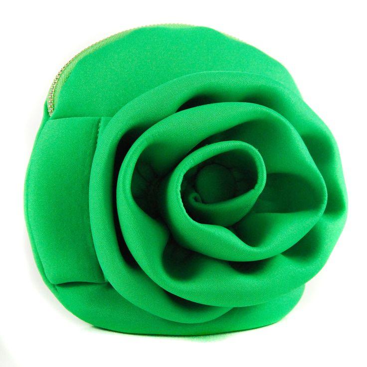 A Neoprene Rose Green
