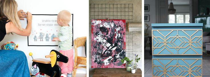 Våren börjar komma och vi har fått in massa nya härliga produkter i butiken. Allt ifrån en ny fantastisk produkt som gör om utseendet på dina möbler väldigt snabbt, möbeldekorer från Frontcover. Tanken är att de passar till utvalda Ikea möbler, men ta måtten och se om de passar din möbel också! Sen har vi