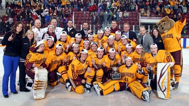 Congrats to Minnesota Women's Hockey on first perfect season in NCAA women's hockey history. http://www.startribune.com/sports/gophers/199777071.html