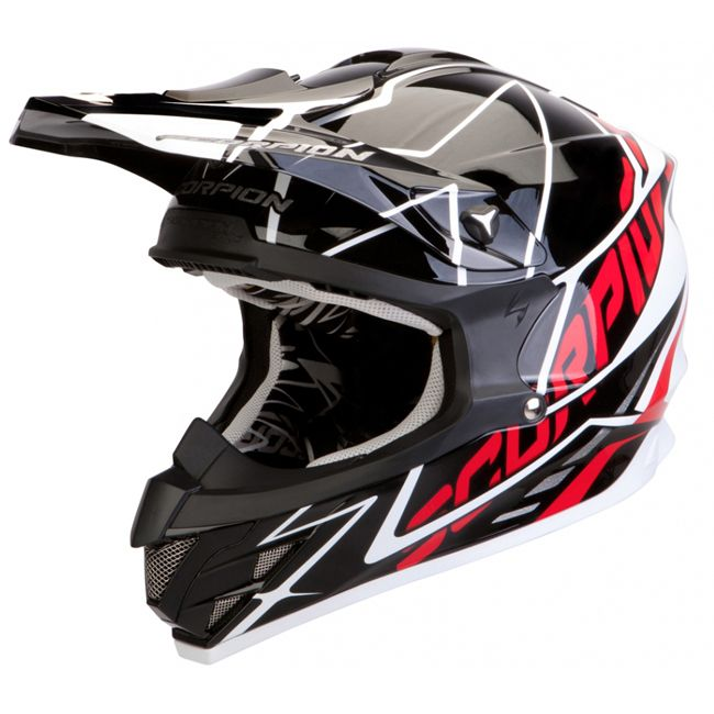 Casque integral motocross scorpion vx 15 air sprint noir blanc rouge. http://www.fxmotors.fr/fr/accueil/equipements-motocross/casques/casque-cross-scorpion-exo-vx-15-air-sprint-noir-blanc-rouge
