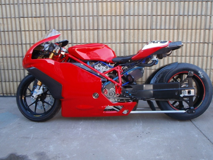 Stretched Ducati Custom Crazy Pashnit Motorcycles