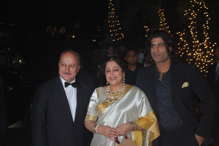 The Kher Family