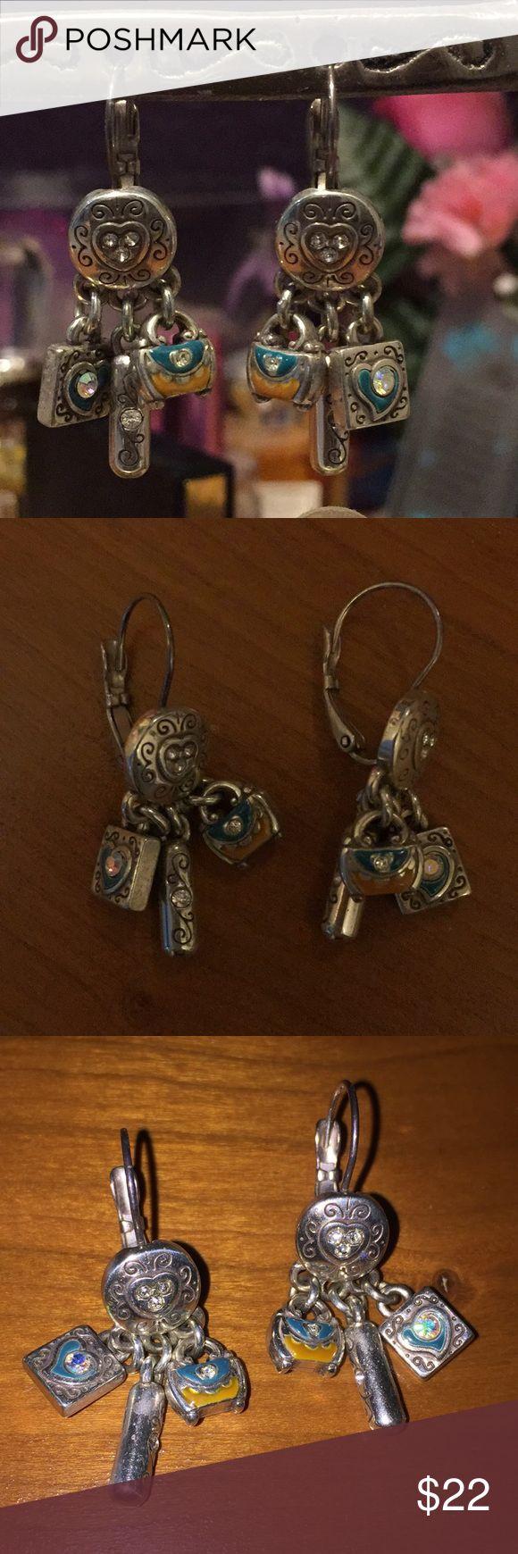 Earrings Very beautiful Brighton earrings. Go with everything! Brighton Jewelry Earrings