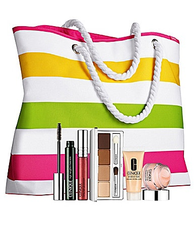 Summer in Clinique Special Offer #Dillards I'm pinning this to participate in Dillard's, Summer in Clinique Sweepstakes. I could possibly win this item and a Clinique Summer Tote filled with products valued at up to $400.00