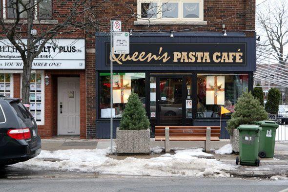 My favourite pasta restaurant in Bloor West Village