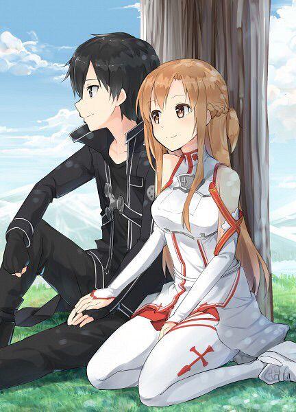 Kirito & Asuna ❤️❤️