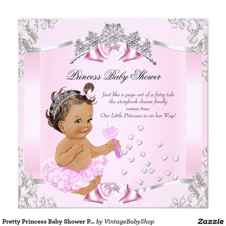 115 best images about princess baby shower on pinterest | baby, Baby shower invitations