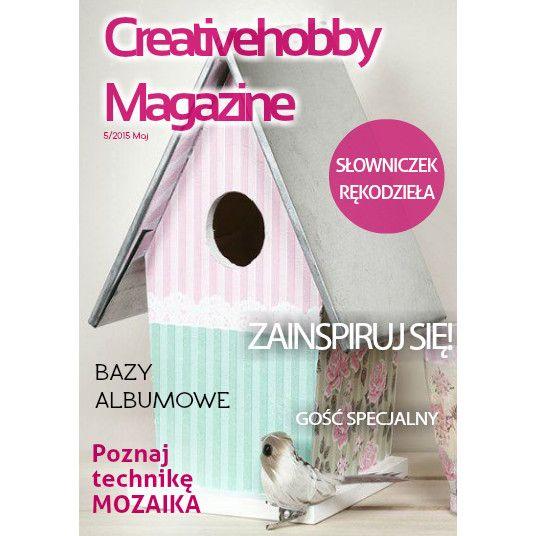 Przed Wami majowy numer Creativehobby Magazine :) Całość przeczytacie tutaj - http://bit.ly/1EC1Vg2