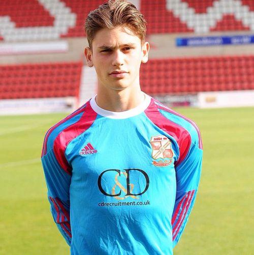 Footballer Aaron Moody