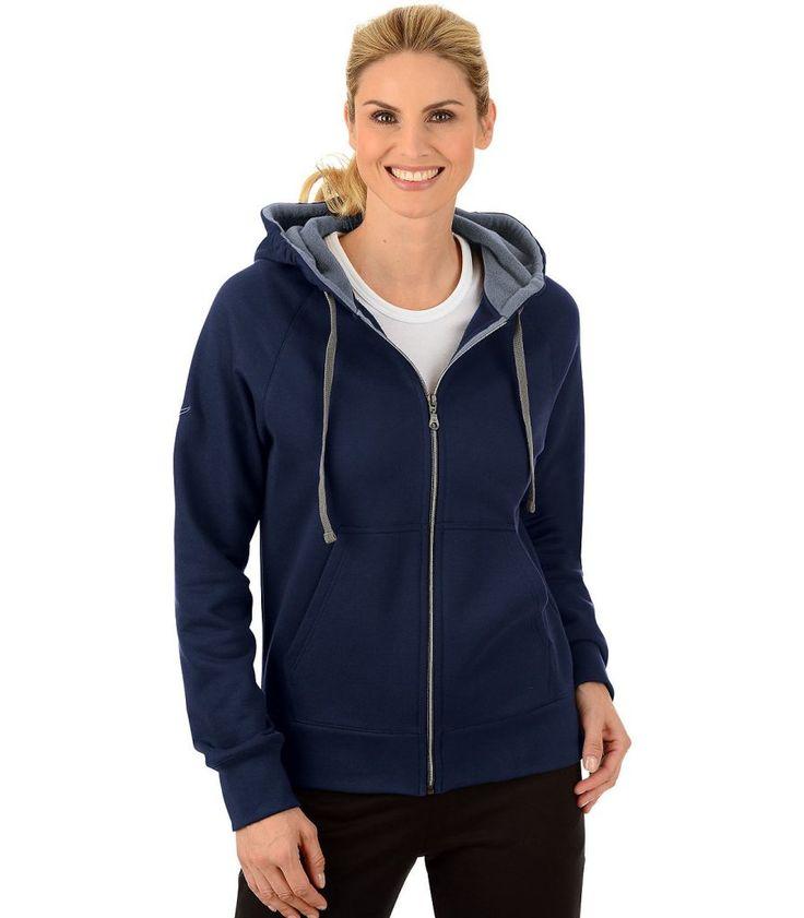 #Trigema #Damen #TRIGEMA #Kapuzen-Jacke #Sweat-Qualität #blau Kapuzen-Jacke Sweat-Qualität Diese Kapuzen-Sweat-Jacke garantiert ein super angenehmes Tragegefühl. Innen kuschelig angeraut ist die Sweat-Qualität besonders glatt und griffig. Gewisse Extras wie die mit Fleece gefütterte Kapuze und die kontrastfarbige Kordel verleihen der Kapuzenjacke ein sportliches Aussehen. Bügeln: mäßig heiß bügeln Materialbezeichnung: Baumwolle/Kunstfaser Materialzusammensetzung: 70 % Baumwolle, 30 %…