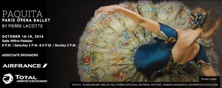 Opera de Paris a Montreal - Paquita Oct 2014