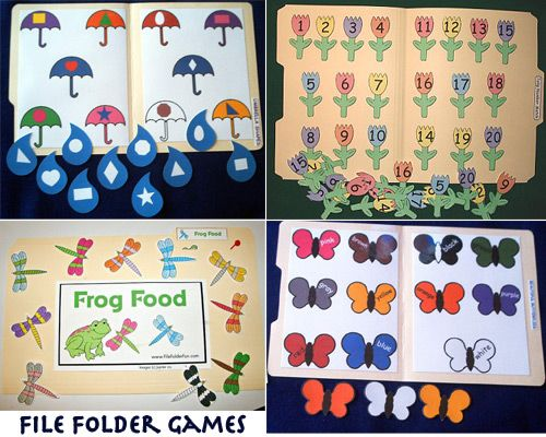 math worksheet : 3573 best file folder games images on pinterest  file folder  : Math File Folder Games Kindergarten