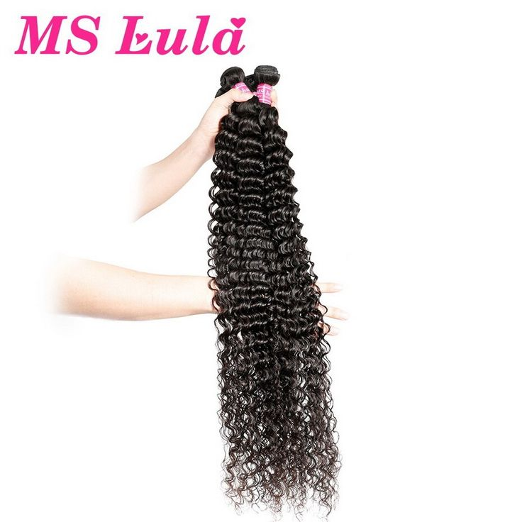 Ms Lula Brazilian Deep Wave 1/3/4 Bundles Hair Wef…