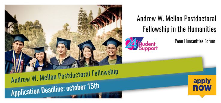 This fellowship is available for the Ph.D. is the only eligible terminal degree, and applicants must be humanists or those in such allied fields as anthropology or history of science.