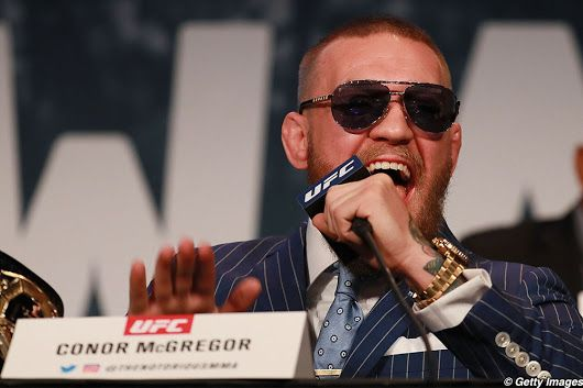 Photos: 25 best images from UFC 205's news conference in NYC with McGregor, Alvarez first meeting