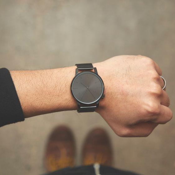 KOMONO Winston Royale black - męski zegarek klasyczny