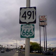 Haunted Highway 666 - there are many stories that surround this highway from vindictive cars and trucks to evil human and animal spirits. Some attribute the activity to the number assigned to the highway while others say that it was built over a Native American burial ground. In any case, Highway 666 is considered one of the most haunted highways in America.