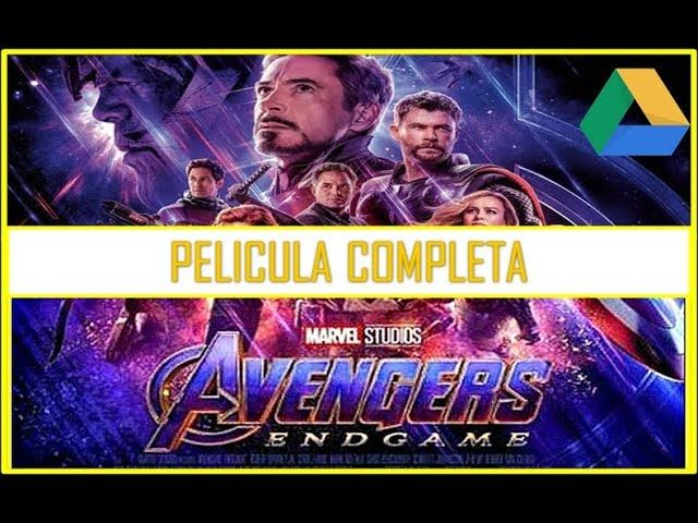 Avengers: Endgame Película Completa en Español Latino ( Google Drive