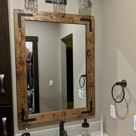 40++ Bathroom vanity mirror etsy ideas