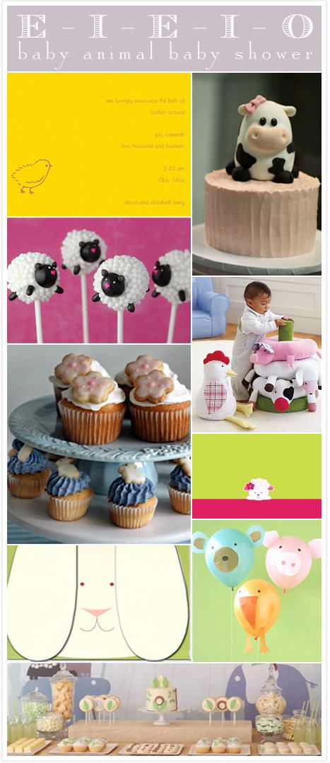 Good for a baby's birthday too.: Shower Ideas, Fab Blog, Baby Shower Invitations, Cute Baby Animals, Animal Parties, Animal Balloons, Animal Baby Showers, Animal Babies, Baby Animal Baby Shower