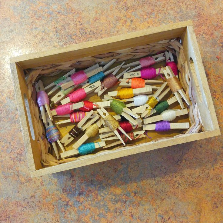 How to Organize Embroidery Floss Like a Boss Storage @handmaidstitch