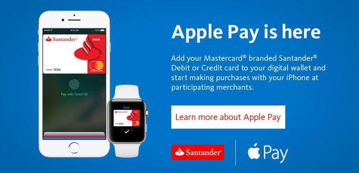 El Banco Santander ya es compatible con Apple Pay en EEUU - https://www.actualidadiphone.com/banco-santander-ya-compatible-apple-pay-eeuu/