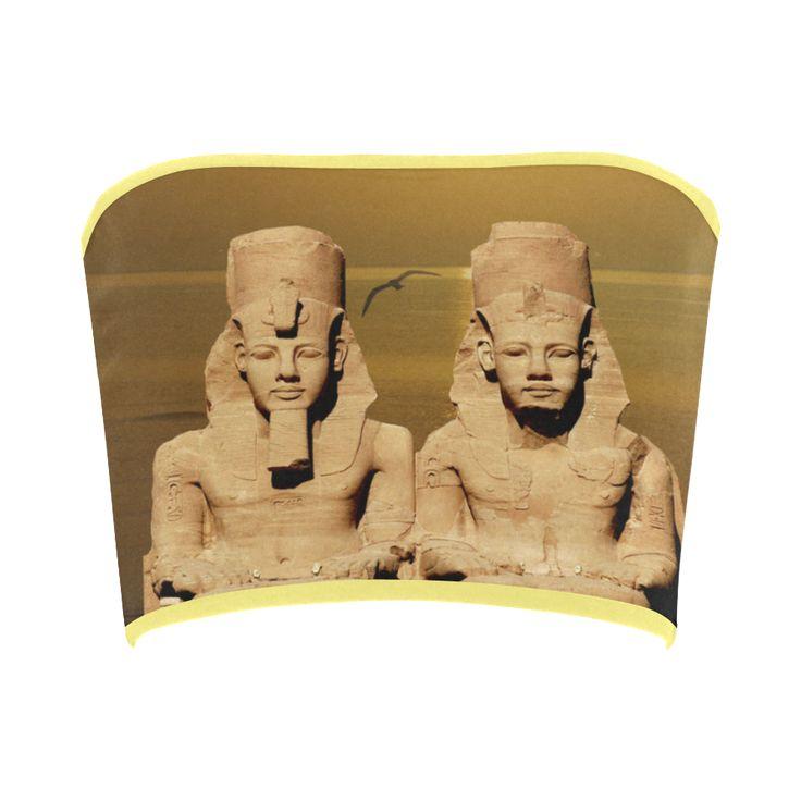 Temple of Sun Bandeau Top. FREE Returns. #artsadd #tops #egypt