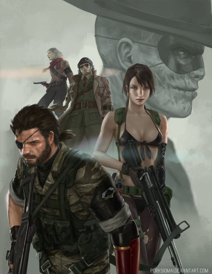 MGS5, porksiomai, The Phantom Pain, on DeviantArt