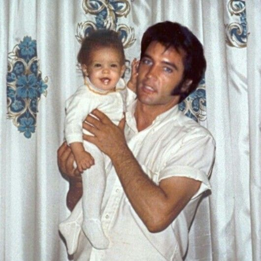 Happy Birthday Lisa Marie! Feb, 1st! #Elvis, Pinned from Maui, Hawaii.  http://www.burnnlove.com/