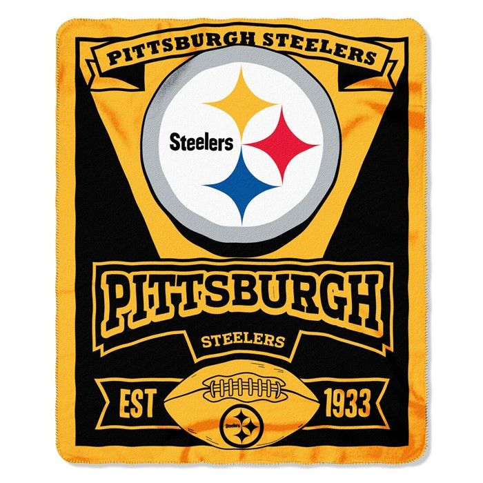 Use this Exclusive coupon code: PINFIVE to receive an additional 5% off the Pittsburgh Steelers NFL Marquee Fleece Throw at SportsFansPlus.com