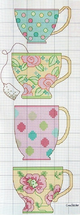 ♥Sweet Tea cups