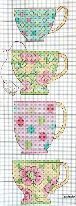 17 Best Images About Plastic Canvas Teapots On Pinterest
