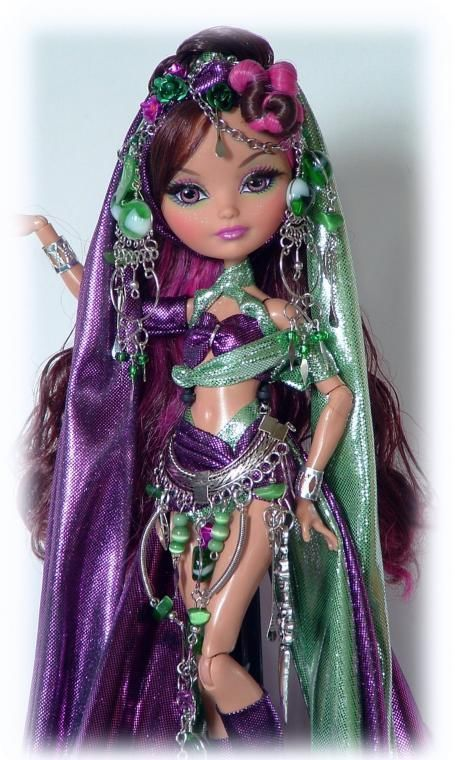 OOAK Ever After High doll/ monster high doll * WARRIOR* Custom by Cindy