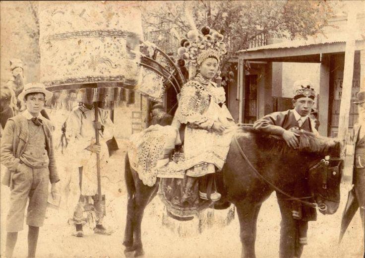 Culture Victoria - Chinese Princess, Bendigo Easter Fair, 1901