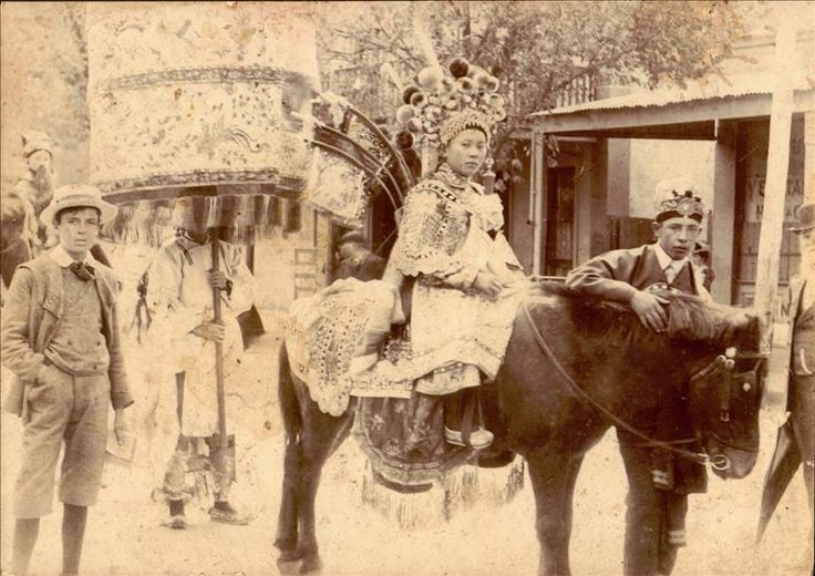 Culture Victoria - Chinese Princess, Bendigo Easter Fair, 1901
